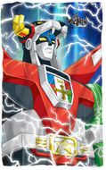 "Voltron ""Lightning"" Fleece Blanket - 36"" X 58"""
