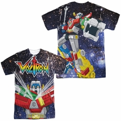 Voltron Space Defender Sublimation Shirt Front/Back Print