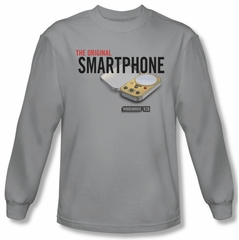 Warehouse 13 Shirt Original Smartphone Long Sleeve Silver Tee T-Shirt