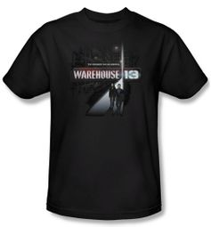 Warehouse 13 Shirt The Unknown Adult Black Tee T-Shirt