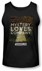 Warehouse 13 Tank Top Mystery Loves Black Tanktop