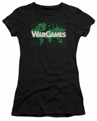 WarGames  Juniors Shirt Game Board Black T-Shirt