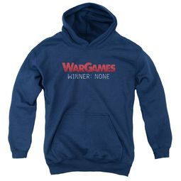 WarGames  Kids Hoodie Winner None Navy Blue Youth Hoody