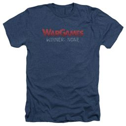 WarGames Shirt Winner None Heather Navy Blue T-Shirt