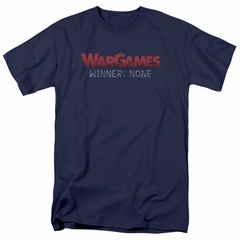 WarGames Shirt Winner None Navy Blue T-Shirt