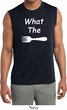 What the Fork WTF Mens Sleeveless Moisture Wicking Shirt