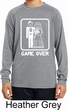 White Game Over Kids Dry Wicking Long Sleeve Shirt
