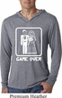 White Game Over Lightweight Hoodie Shirt