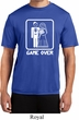 White Game Over Mens Moisture Wicking Shirt
