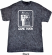 White Game Over Mineral Tie Dye Shirt