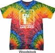 White Game Over Tie Dye Shirt