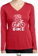 White Penguin Power Bike Ladies Dry Wicking Long Sleeve Shirt