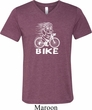 White Penguin Power Bike Mens Tri Blend V-neck Shirt