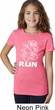 White Penguin Power Run Girls Shirt