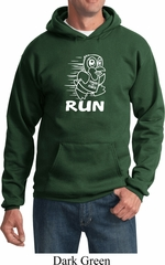 White Penguin Power Run Hoodie
