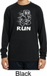 White Penguin Power Run Kids Dry Wicking Long Sleeve Shirt