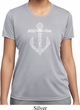 Wild and Free Anchor Ladies Moisture Wicking Shirt