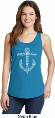 Wild and Free Anchor Ladies Tank Top