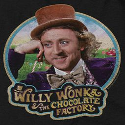 Willy Wonka and The Chocolate Factory Its Scrumdiddlyumptious Shirts