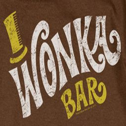 Willy Wonka and The Chocolate Factory Logo Shirts