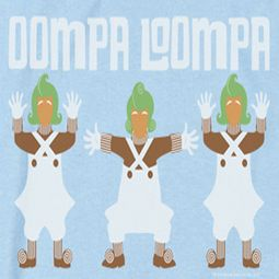 Willy Wonka and The Chocolate Factory Oompa Loompa Shirts