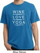 Wine Love Yoga Pigment Dyed Shirt