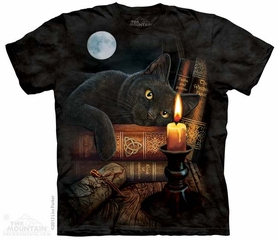 Witching Hour Shirt Tie Dye Adult T-Shirt Tee