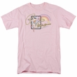 Wonder Woman T-shirt - Island Princess Adult Pink Tee