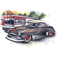 Woodie T-Shirts - 41 Coupe Classic Car Tee Shirts