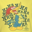 Woody Woodpecker Junior Shirt Laugh It Up Yellow Tee T-Shirt