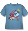 Woody Woodpecker Kids Shirt Dive Carolina Blue Tee T-Shirt
