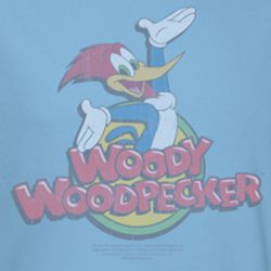 Woody Woodpecker Retro Fade Shirts