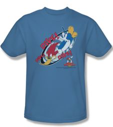 Woody Woodpecker Shirt Dive Adult Carolina Blue Tee T-Shirt