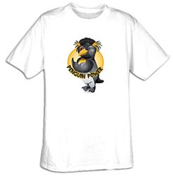 Workout Clothing - Penguin Power Gym Tee