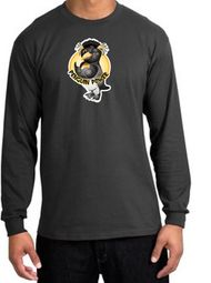 Workout Clothing - Penguin Power Long Sleeve T-shirts
