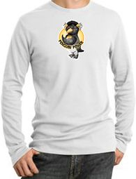 Workout Clothing - Penguin Power Long Sleeve Thermal T-shirts