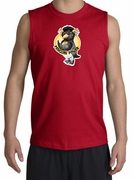 Workout Clothing - Penguin Power Muscle Gym Shirt - Shooter