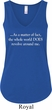 World Revolves Around Me Ladies Flowy V-neck Tank Top