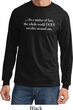 World Revolves Around Me Long Sleeve Shirt