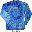 World Revolves Around Me Long Sleeve Tie Dye Shirt