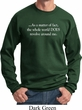 World Revolves Around Me Sweatshirt