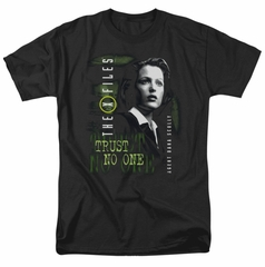 X-Files Shirt Scully Adult Black Tee T-Shirt