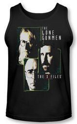 X-Files Tank Top Lone Gunmen Black Tanktop