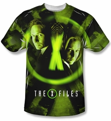 X-Files Trust No One Sublimation Shirt