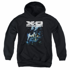 X-O Manowar Kids Hoodie By The Sword Black Youth Hoody