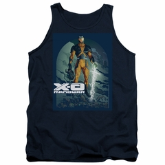 X-O Manowar Tank Top Decapitated Navy Tanktop