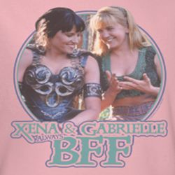 Xena: Warrior Princess BFF Shirts