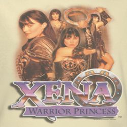 Xena: Warrior Princess Collage Shirts
