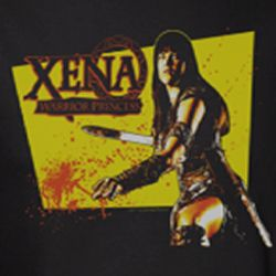 Xena: Warrior Princess Cut Up Shirts