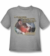 Xena: Warrior Princess Kids Shirt A Good Thief Grey Tee T-Shirt